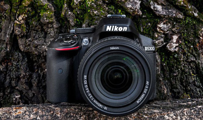 Nikon D5300 24.2 MP CMOS Digital SLR Camera with 18-55mm f/3.5-5.6G ED VR Auto Focus-S DX NIKKOR Zoom Lens