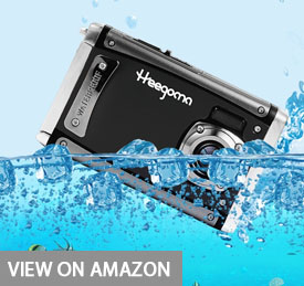 Heegomn Digital Camera Ultra HD 24M Resolution Waterproof Camera